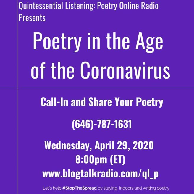 Poetry in the age of the Coronavur